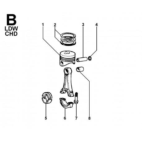 LDW 1503 - BIELLA E PISTONE (B)