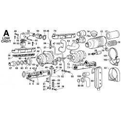LDW 2004-T - ASPIRAZIONE E SCARICO/TURBOCOMPRESSORE (A)
