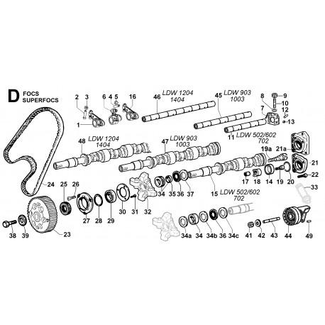 LDW 502 - DISTRIBUZIONE/REGOLATORE DI GIRI (D)