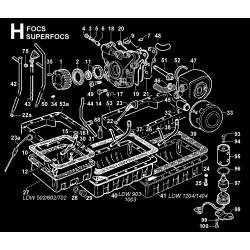 LDW 602 - CIRCUITO DI LUBRIFICAZIONE (H)