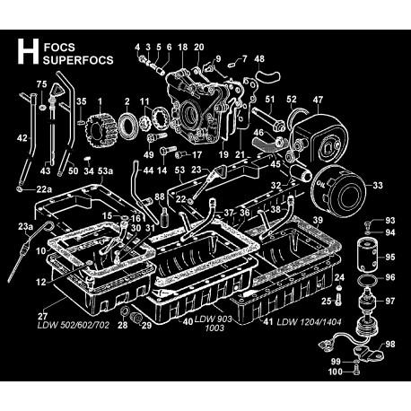 LDW 1404 - CIRCUITO DI LUBRIFICAZIONE (H)