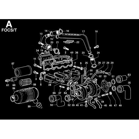 LDW 1204-T - ASPIRAZIONE E SCARICO/TURBOCOMPRESSORE (A)