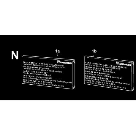 SILEO 1400 - SERIE GUARNIZIONI/ANELLI (N)