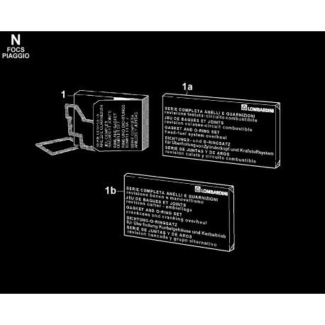 LDW 1204-P - SERIE GUARNIZIONI/ANELLI (N)