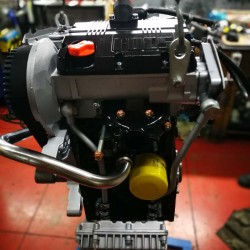 Lombardini remanufactured engine LDW 702/P for Piaggio Quargo