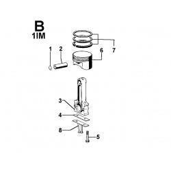 1IM 350 - BIELLA E PISTONE (B)