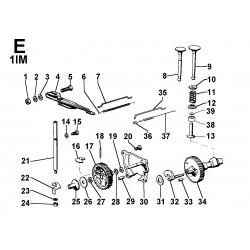 1IM 250 restyling - DISTRIBUZIONE/REGOLATORE DI GIRI (E)