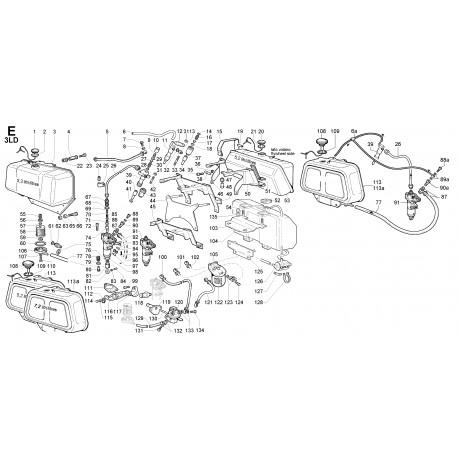 3LD 450 - CIRCUITO COMBUSTIBILE - E