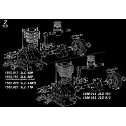 3LD 450-S - BLOCCO MOTORE (Z)