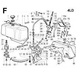 4LD 705 - CIRCUITO COMBUSTIBILE (F)