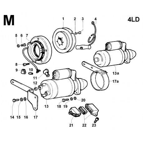 4LD 820 - AVVIAMENTO (M)