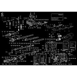 5LD 825-2 - TESTA/CAPPELLO BIL./DECOMPRESSIONE/VALVOLE/DISTRIBUZIONE/REG.GIRI (C)