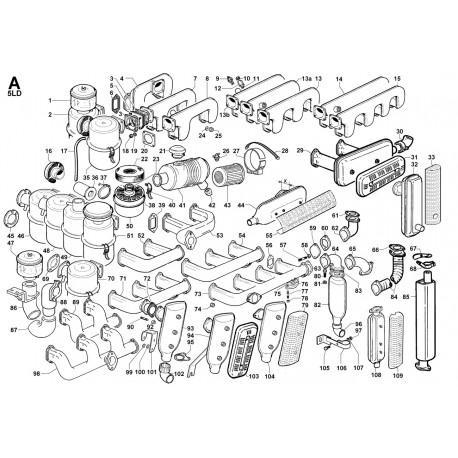 5LD 824-3-B - ASPIRAZIONE E SCARICO (A)