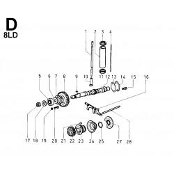 8LD 600-2 - DISTRIBUZIONE/REGOLATORE DI GIRI (D)