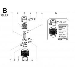 8LD 740-2-L - BIELLA/PISTONE/CILINDRO (B)