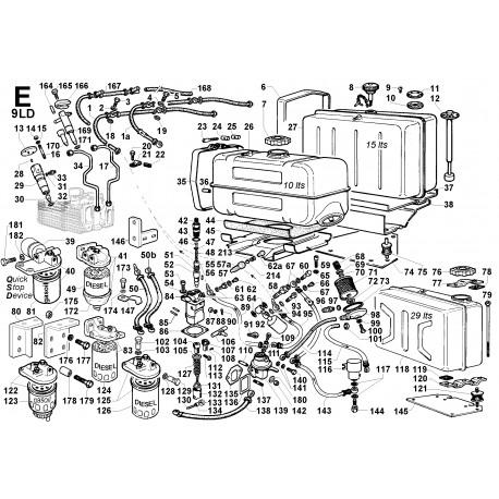 9LD 625-2 - CIRCUITO COMBUSTIBILE (E)