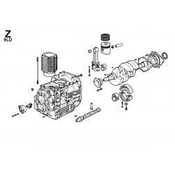 9LD 626-2 - BLOCCO MOTORE (Z)