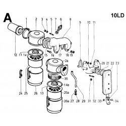 10LD 400-2 - ASPIRAZIONE E SCARICO (A)