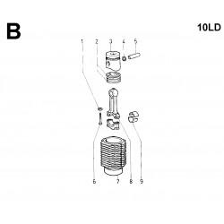 10LD 400-2 - BIELLA/PISTONE/CILINDRO (B)