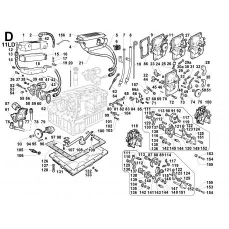 11LD 535-3 - COMANDI/CIRCUITO LUBRIFICAZIONE (D)