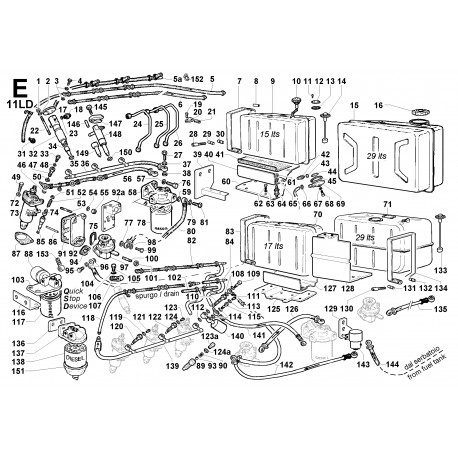 11LD 626-3 - CIRCUITO COMBUSTIBILE (E)