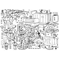 12LD 435-2 - CIRCUITO COMBUSTIBILE (E)