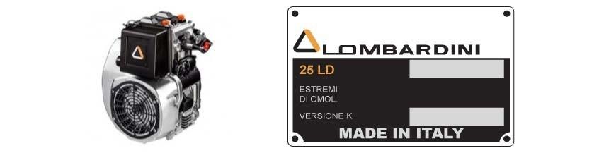 Ricambi Lombardini 25LD
