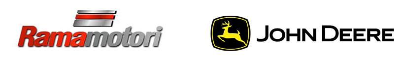 Rama Motori and John Deere Logos