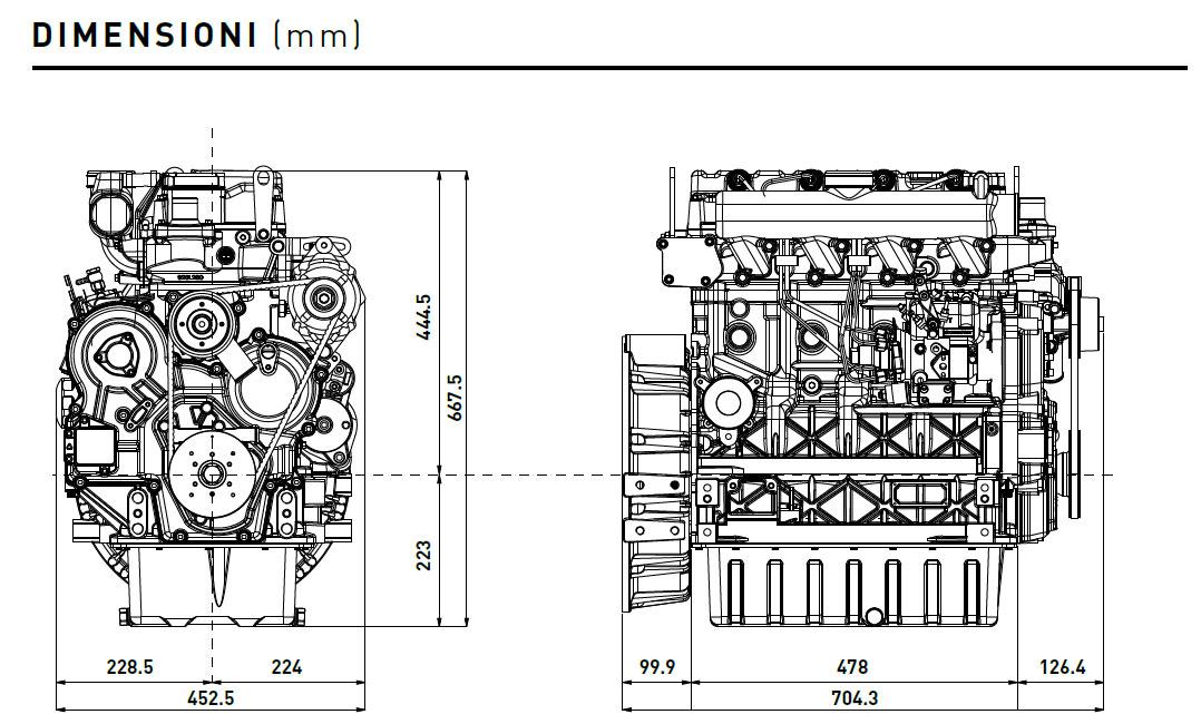 diesel engine kohler kdi 2504m  liquid